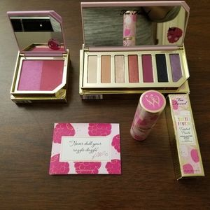 Too Faced Tutti Frutti 3 pack including one palett